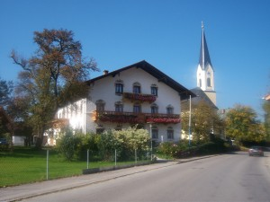 Typical Bavarian dwelling