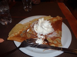 Chocolate Crepes - Yum!