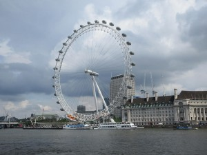 The London Eye - a place Debbie will never be seen