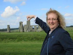 Having a bit of fun at Stonehenge